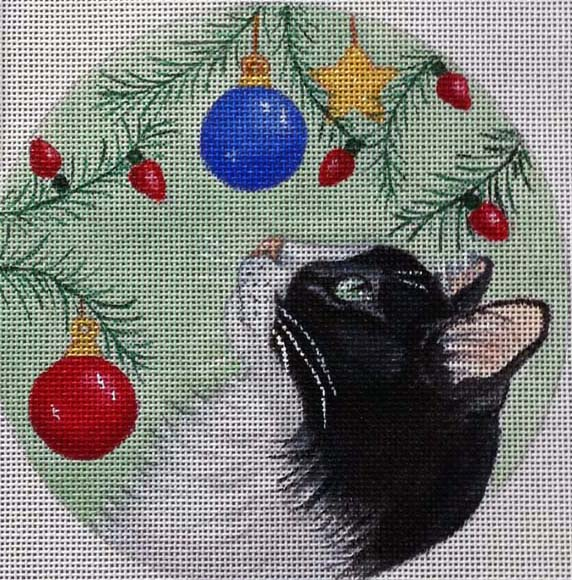 click here to view larger image of A New Toy Ornament (hand painted canvases)