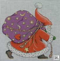 click here to view larger image of Belive Santa (no background) (hand painted canvases)