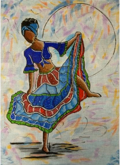 click here to view larger image of Dancing (hand painted canvases)