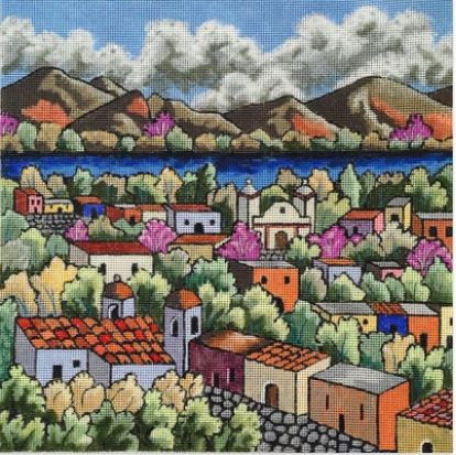 click here to view larger image of Sierra Madre (hand painted canvases)