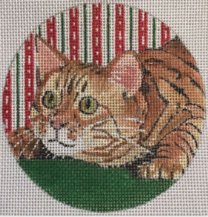 click here to view larger image of Bengal Cat Ornament (hand painted canvases)