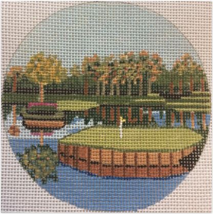 click here to view larger image of TPC Sawgrass, Florida Ornament (hand painted canvases)