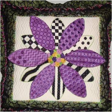 click here to view larger image of 3D Daisy (hand painted canvases)