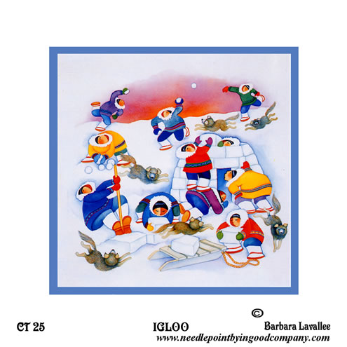 click here to view larger image of Igloo (hand painted canvases)