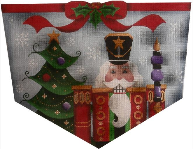 click here to view larger image of Nutcracker Cuff - 18ct (hand painted canvases)