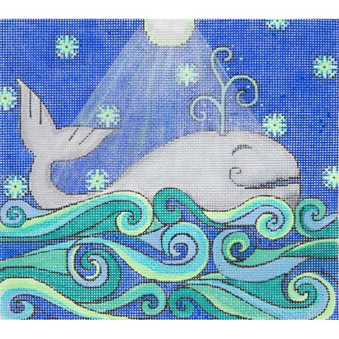click here to view larger image of Whale (hand painted canvases)