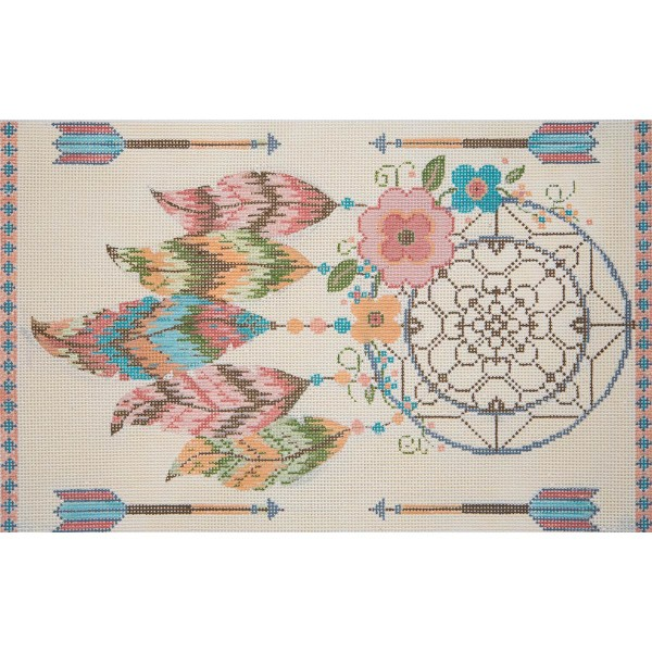 click here to view larger image of Dreamcatcher (hand painted canvases)