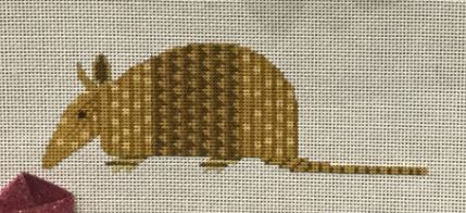 click here to view larger image of Armadillo (hand painted canvases)