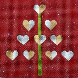 click here to view larger image of Love Actually (hand painted canvases)