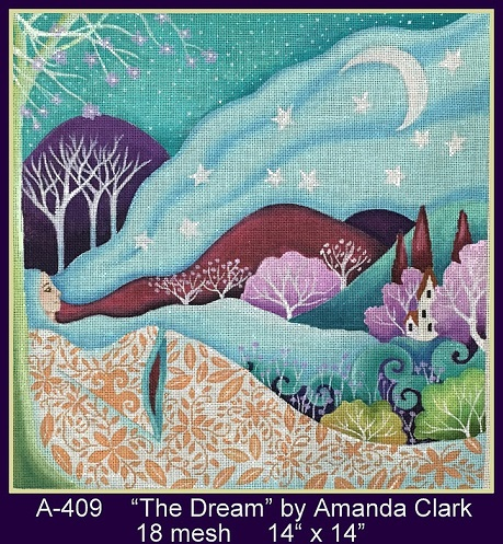 click here to view larger image of Dream, The (hand painted canvases)