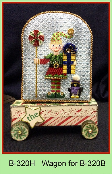 click here to view larger image of Wagon for Tis The Season To Be Jolly Elf (accessories)