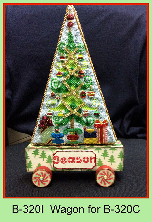 click here to view larger image of Wagon for Tis The Season To Be Jolly Christmas Tree (accessories)