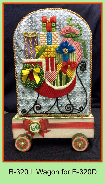 click here to view larger image of Wagon for Tis The Season To Be Jolly Sleigh (accessories)