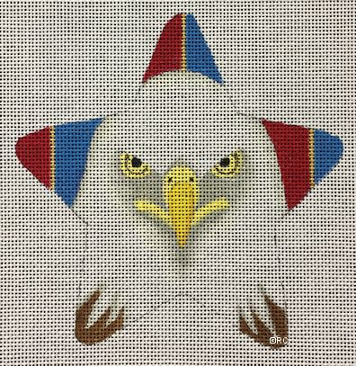click here to view larger image of American Eagle Star (hand painted canvases)