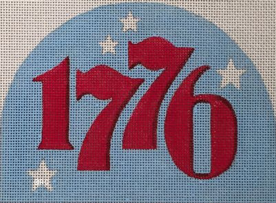 click here to view larger image of 1776 Dome (hand painted canvases)