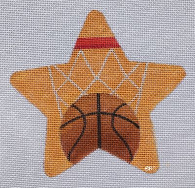click here to view larger image of Basketball Star (hand painted canvases)