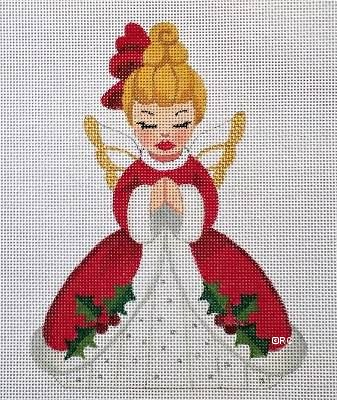 click here to view larger image of Christmas Girl 1 (hand painted canvases)