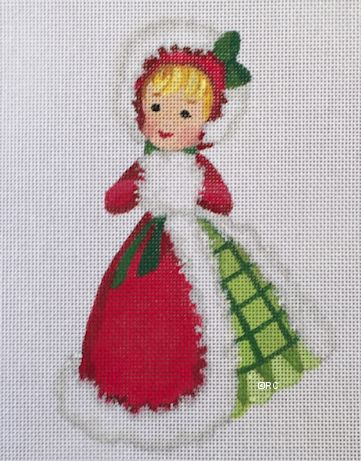 click here to view larger image of Christmas Girl 2 (hand painted canvases)