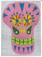 click here to view larger image of Mini Sugar Skull 1 (hand painted canvases)