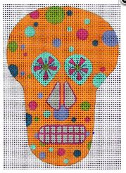 click here to view larger image of Mini Sugar Skull 2 (hand painted canvases)