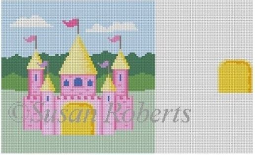 click here to view larger image of Tooth Fairy Castle (hand painted canvases)