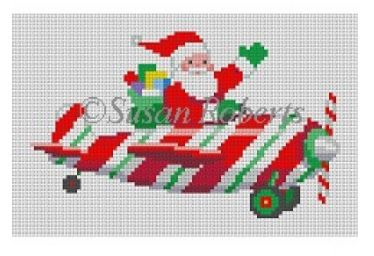 click here to view larger image of Santa Pilot (hand painted canvases)