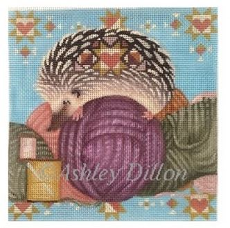 click here to view larger image of Yarn Hog (hand painted canvases)