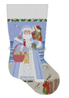 Nautical Santa Stocking - click here for more details