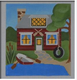 click here to view larger image of Lake House (hand painted canvases)
