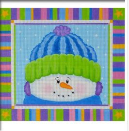 click here to view larger image of Max The Snowman (hand painted canvases)