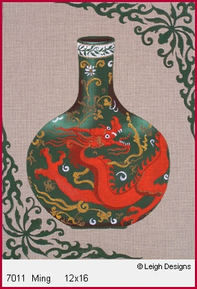 click here to view larger image of Ming (hand painted canvases)