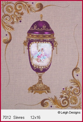 click here to view larger image of Sevres (hand painted canvases)