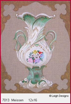 click here to view larger image of Meissen (hand painted canvases)