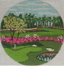 click here to view larger image of Pinehurst NC Ornament (hand painted canvases)