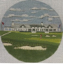 click here to view larger image of Shinnecock NY Ornament (hand painted canvases)