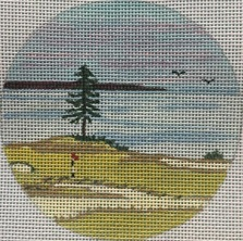 click here to view larger image of Chambers Bay WA Ornament (hand painted canvases)