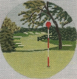 click here to view larger image of Merion PA Ornament (hand painted canvases)