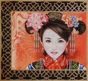 click here to view larger image of Zang Yen (Glamorous) (hand painted canvases)