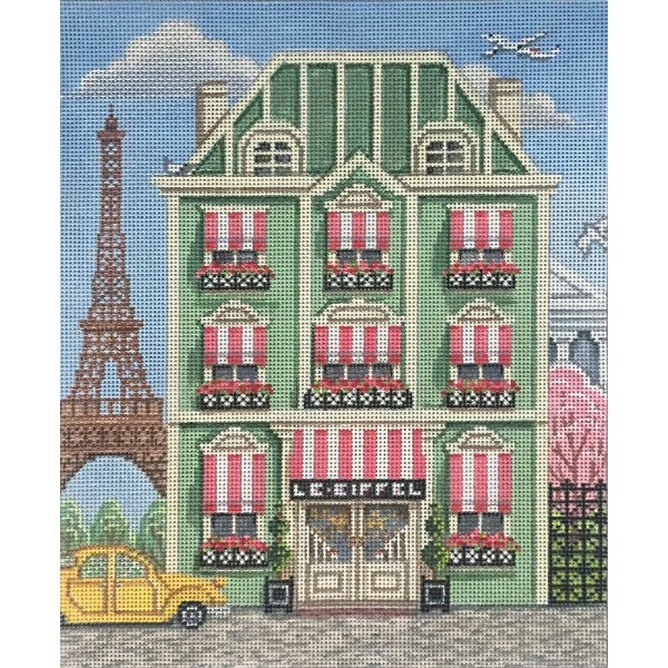 click here to view larger image of Paris Hotel (hand painted canvases)