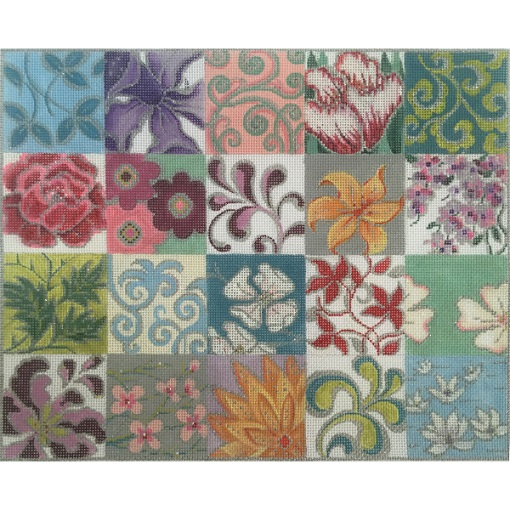 click here to view larger image of Patchwork Collage II (hand painted canvases)