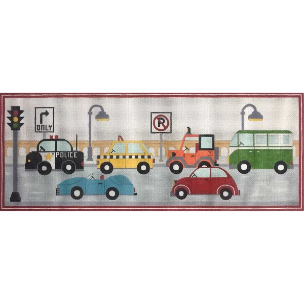 click here to view larger image of Cars On Highway (hand painted canvases)
