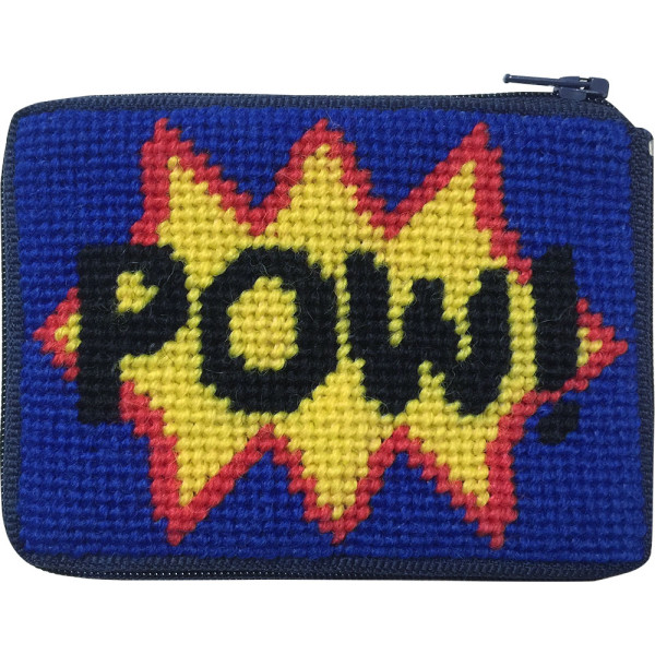 click here to view larger image of Pow Coin Case (needlepoint kits)