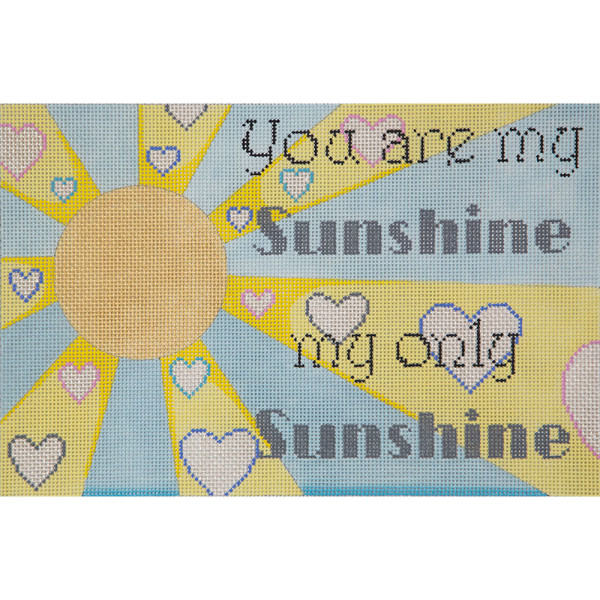 click here to view larger image of You Are My Sunshine (hand painted canvases)