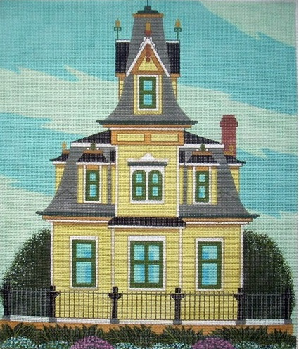 click here to view larger image of Lyford House (hand painted canvases)