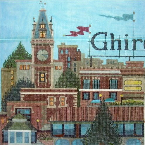 click here to view larger image of Ghirardelli Square (hand painted canvases)