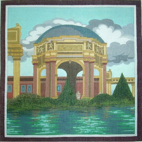 click here to view larger image of Palace of Fine Arts, San Francisco (hand painted canvases)