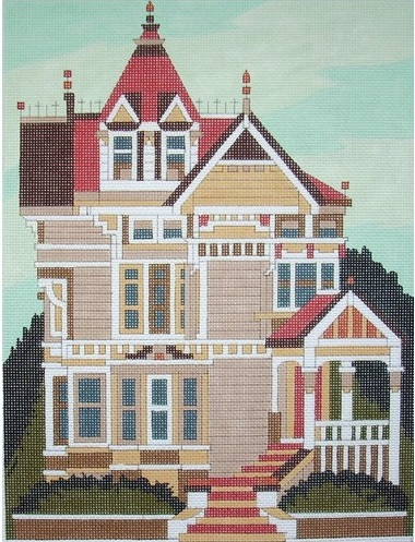 click here to view larger image of Haas Lilienthal House (hand painted canvases)