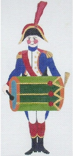click here to view larger image of Drum Musician (hand painted canvases)