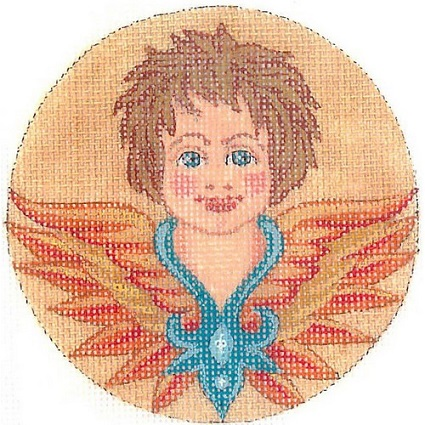 click here to view larger image of Angel - Putto (hand painted canvases)