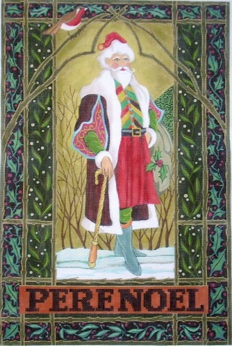 click here to view larger image of Pere Noel (hand painted canvases)